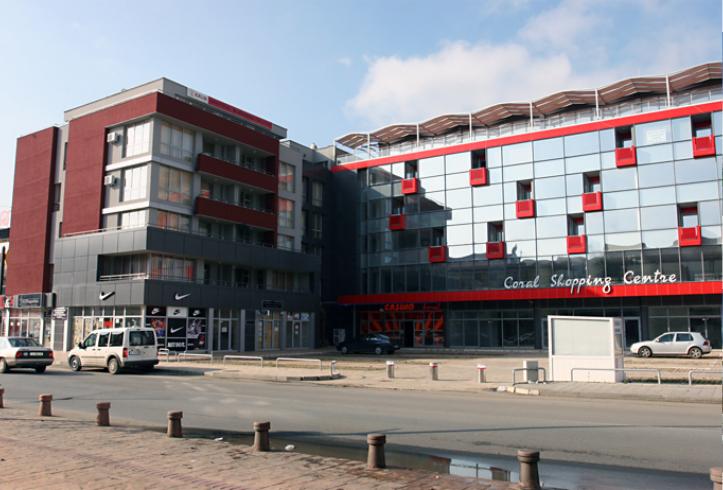 Търговски център Корал - к.к. Слънчев Бряг