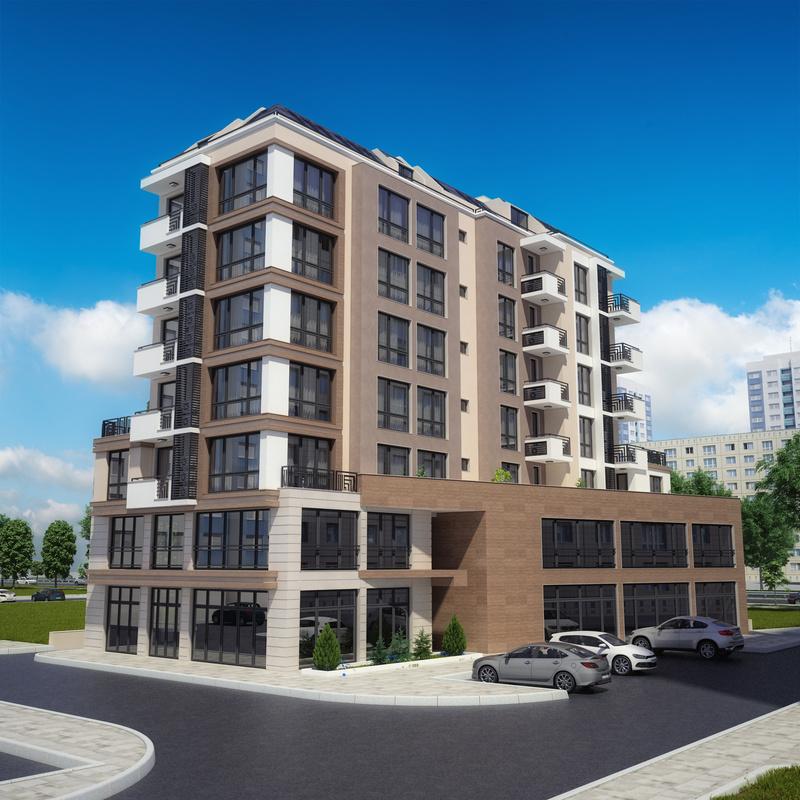 New building in the complex. Slaveykov. Burgas